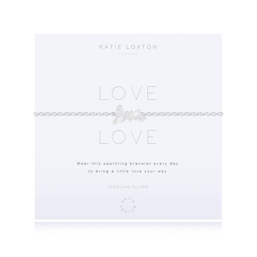 Katie Loxton Armband - Love Love