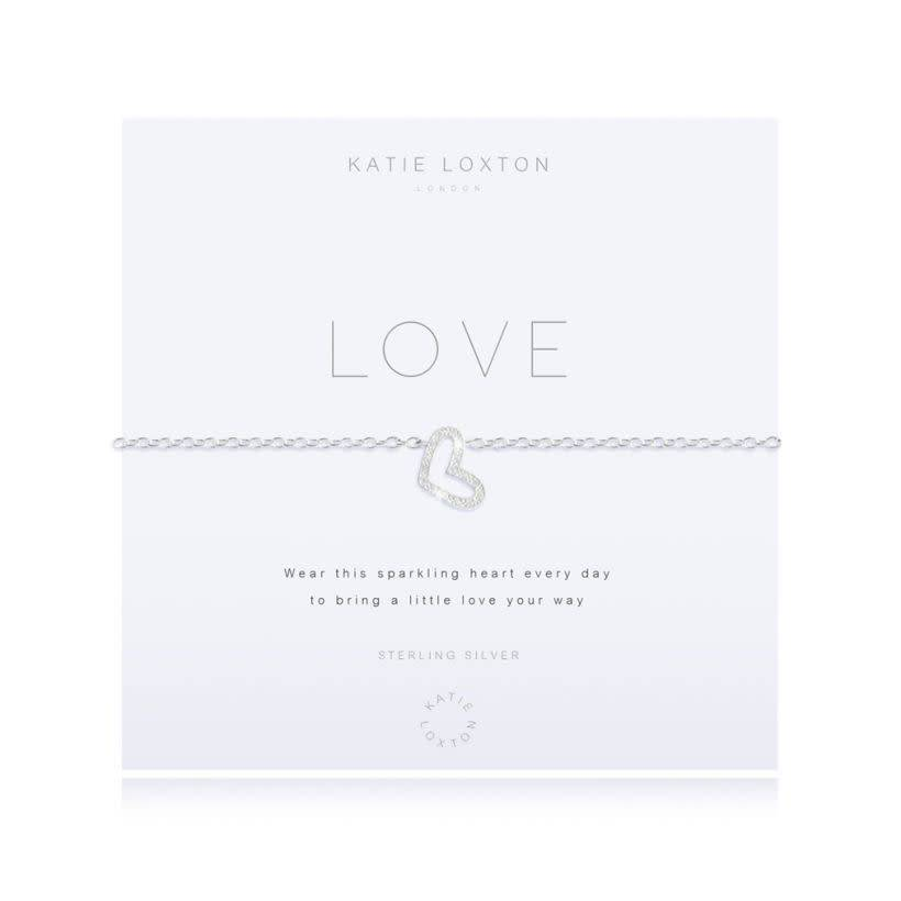 Katie Loxton Armband - Love