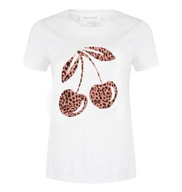 Jacky Luxury T-shirt - Cherry Leopard Pink