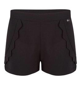 Jacky Luxury Short - Zwart Scallops