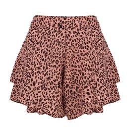 Jacky Luxury LAATSTE STUK S - Short - Leopard Pink
