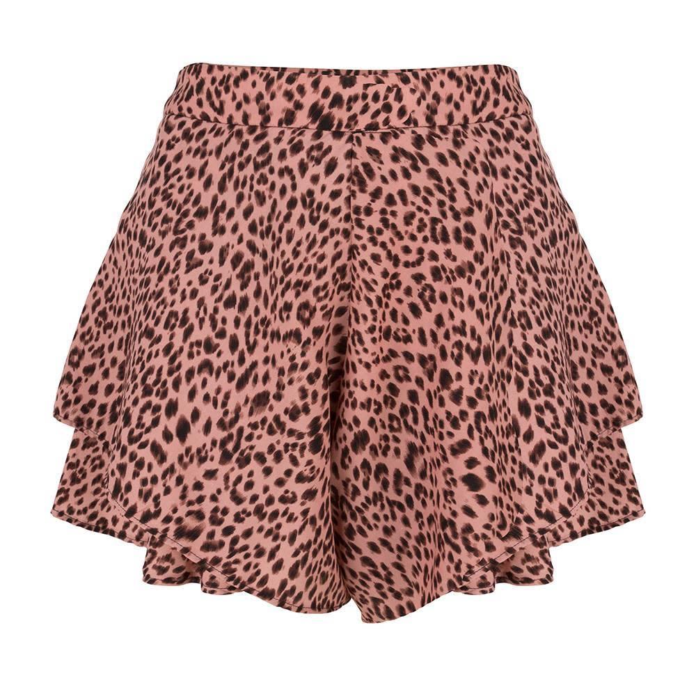 Jacky Luxury Short - Leopard Pink