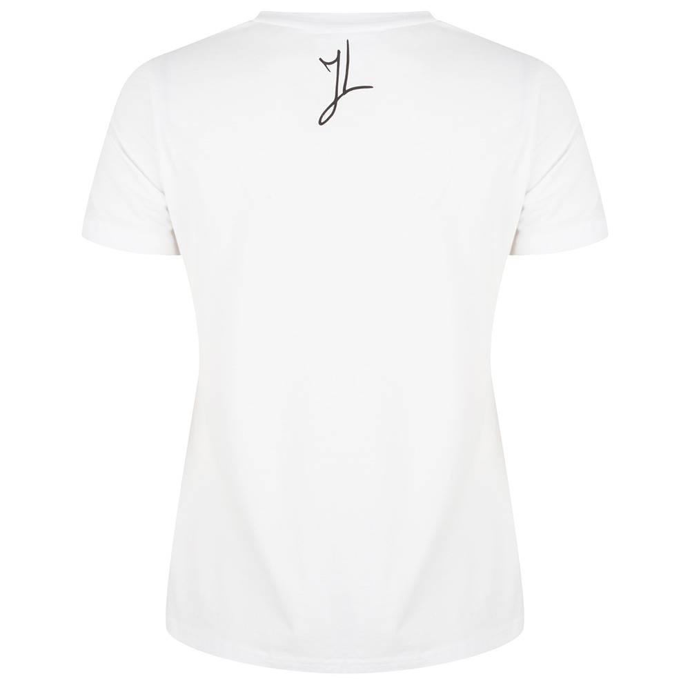 Jacky Luxury T-shirt - Cherry Leopard Wit