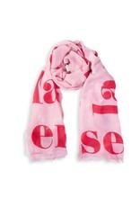 Katie Loxton Sjaal - La vie en Rose - Pink/Red