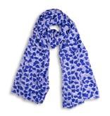 Katie Loxton Sjaal - Heart - Blue/Lilac