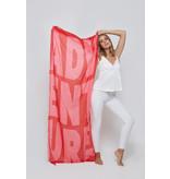 Katie Loxton Sjaal - Adventure - Red/Pink