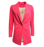 Tutu Chic Blazer - Boomer Pink