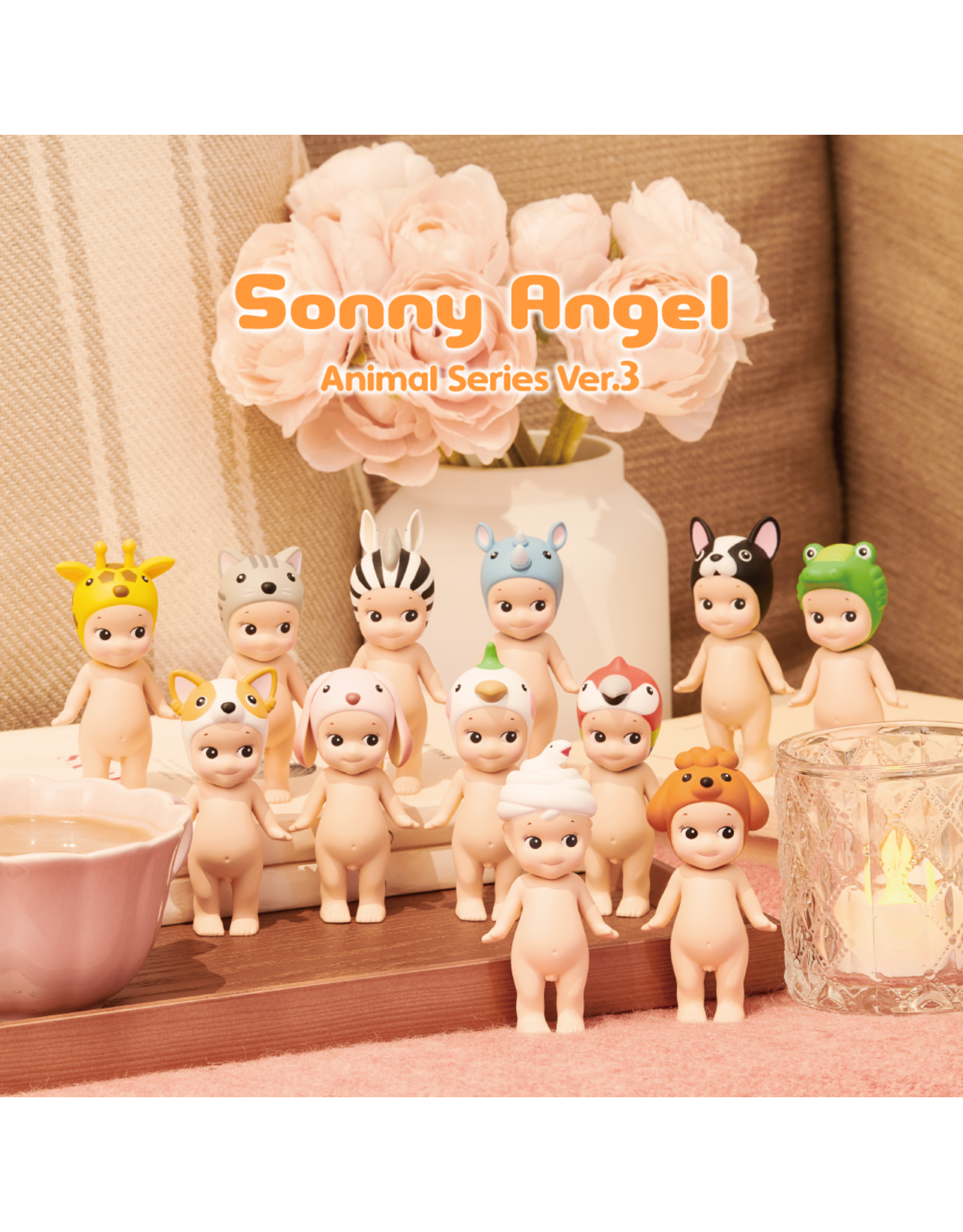 Sonny Angel Dieren Reeks 3