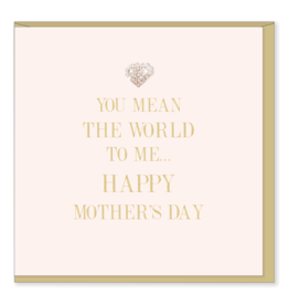 Hearts Design Wenskaart - Happy Mothers day