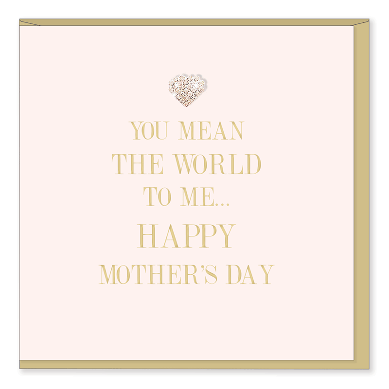 Hearts Design Wenskaart - Happy Mothers day