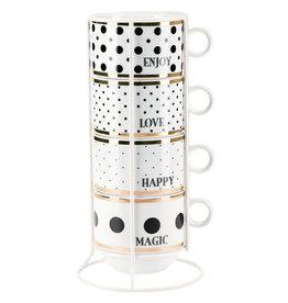 Miss Etoile Tassen Set - Dots