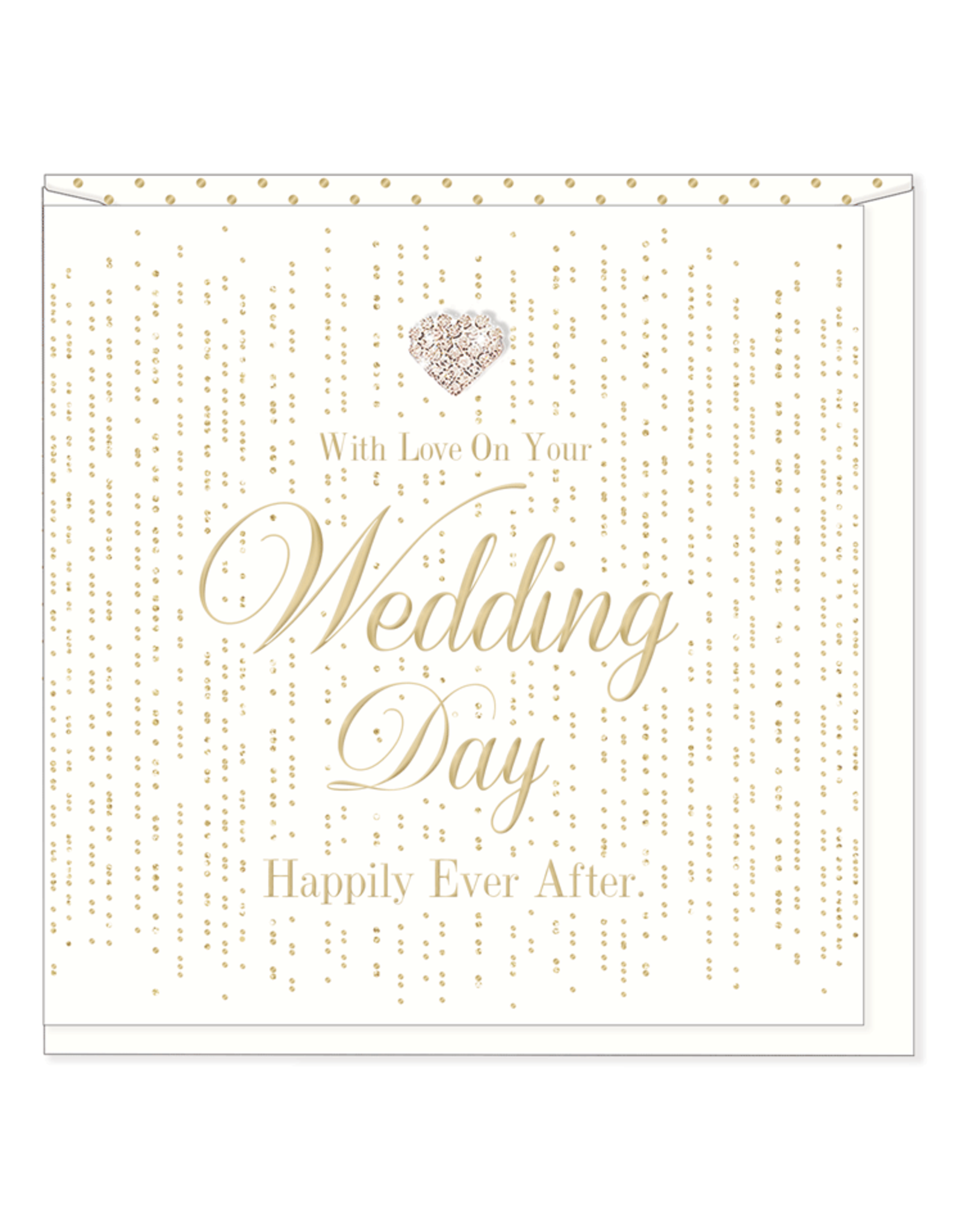 Hearts Design With Love on your Wedding