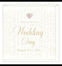 Hearts Design Wenskaart - With Love on your Wedding