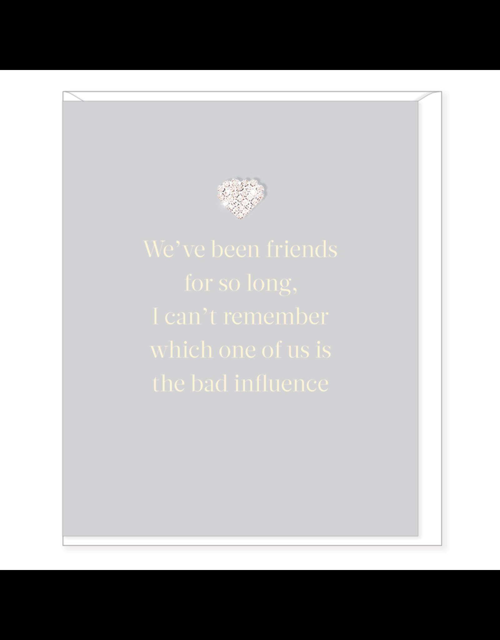 Hearts Design Wenskaart - We've been Friends so long