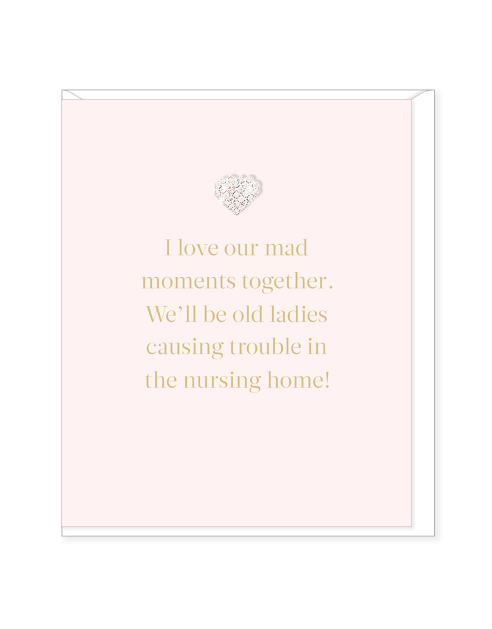 Hearts Design Wenskaart - Our mad Moment Together