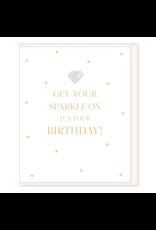Hearts Design Wenskaart - Get your Sparkle on