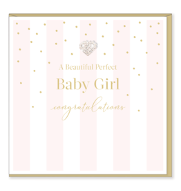 Hearts Design Perfect Baby Girl