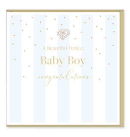 Hearts Design Perfect Baby Boy