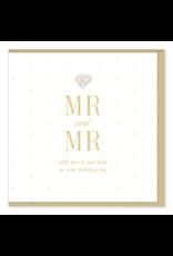 Hearts Design Wenskaart - MR & MR