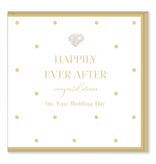 Hearts Design Wenskaart - Happily Ever After
