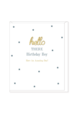 Hearts Design Wenskaart - Birthday Boy