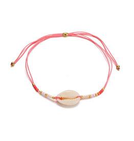 Bizou Armband - Shell Pink