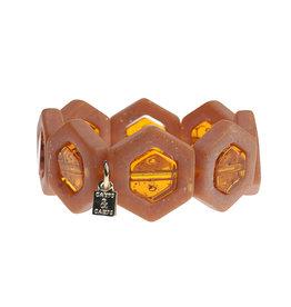 Camps&Camps Armband - Oranjebruin