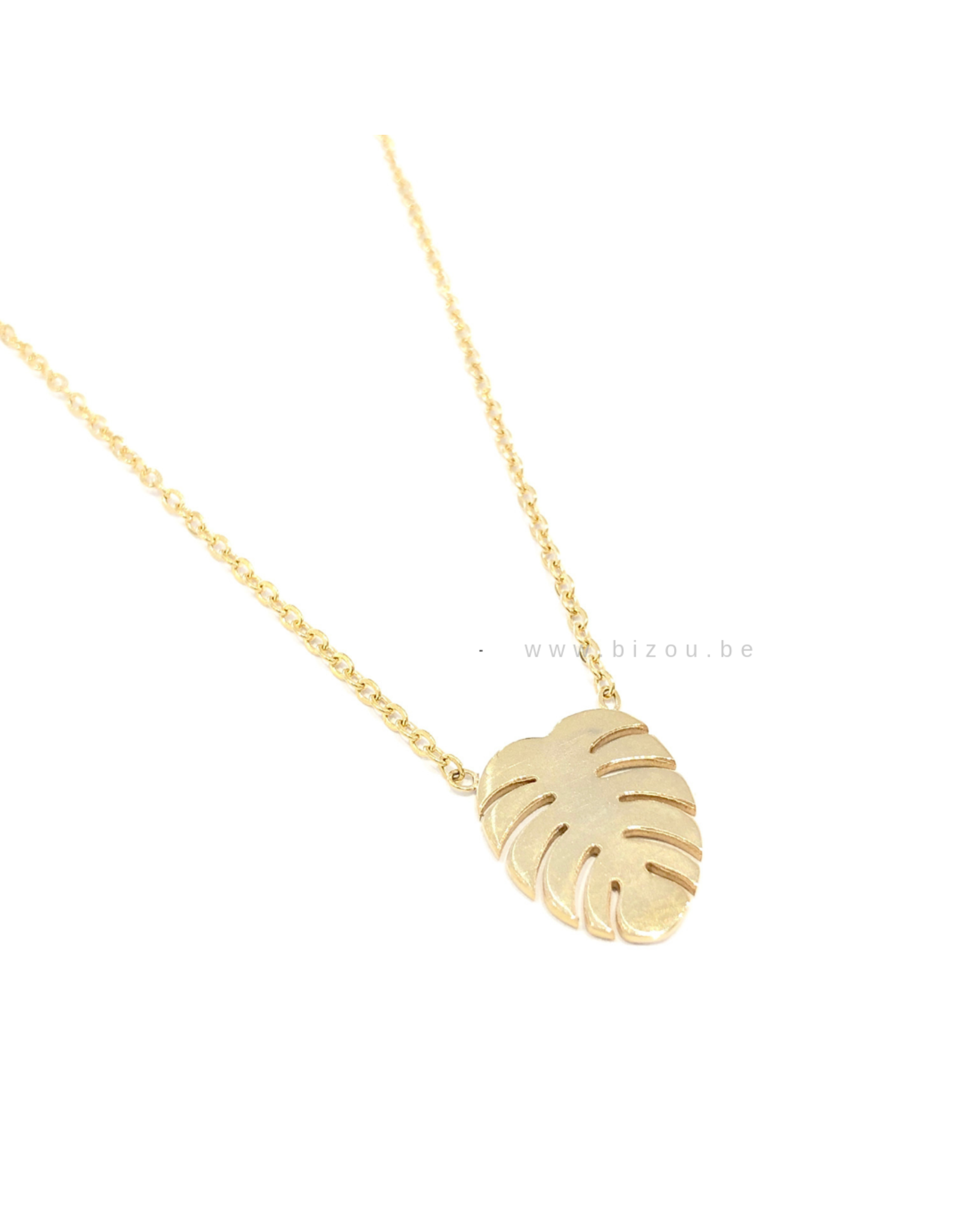 Go Dutch Label Ketting - Palm Goud
