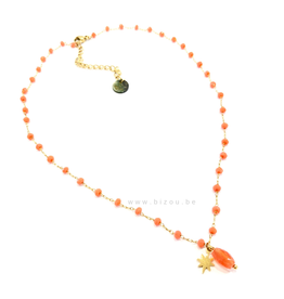 Go Dutch Label Ketting - Beads - Coral