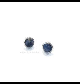 Go Dutch Label Oorbellen - Stone - Blue Aventurine