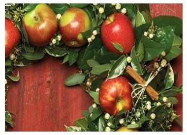 Red Apple Wreath
