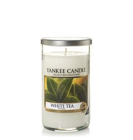 Yankee Candle White Tea Medium Pillar
