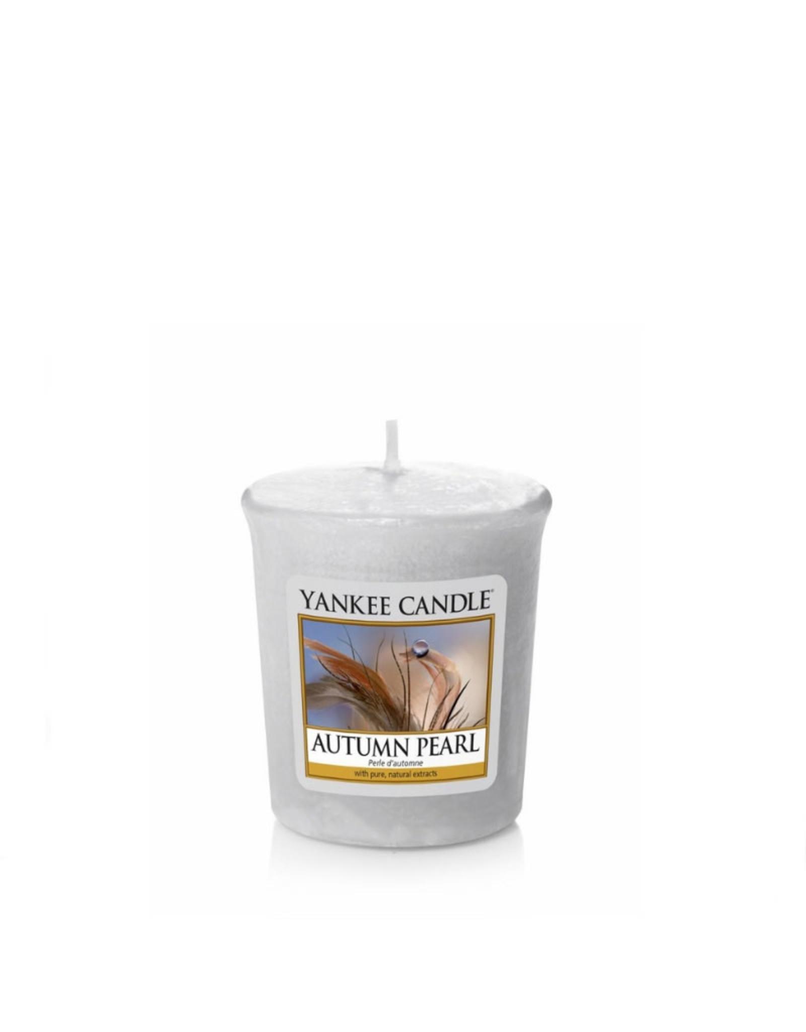 Yankee Candle Autumn Pearl Votive