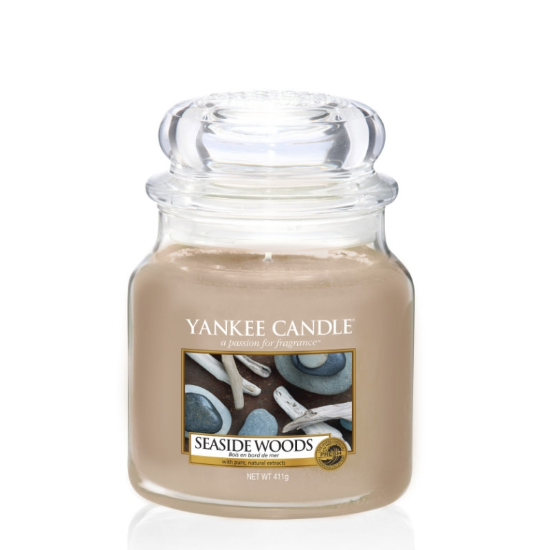 Yankee Candle Seaside Woods - Medium jar