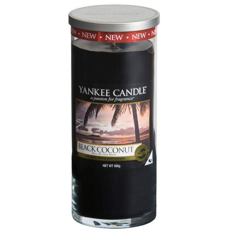 Yankee Candle Black Coconut Large Pillar