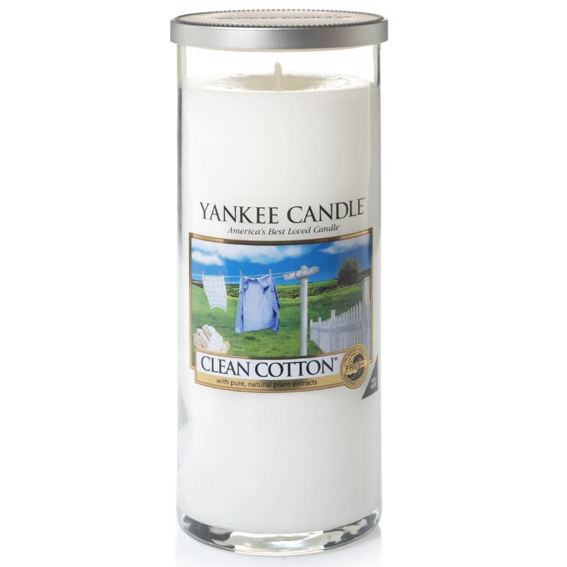 Yankee Candle Clean Cotton Large Pillar