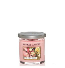 Yankee Candle Fresh Cut Roses Small Pillar