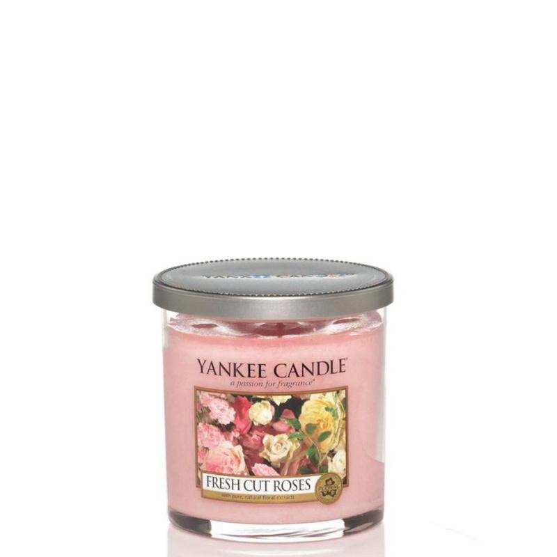Yankee Candle Fresh Cut Roses Small Pillar