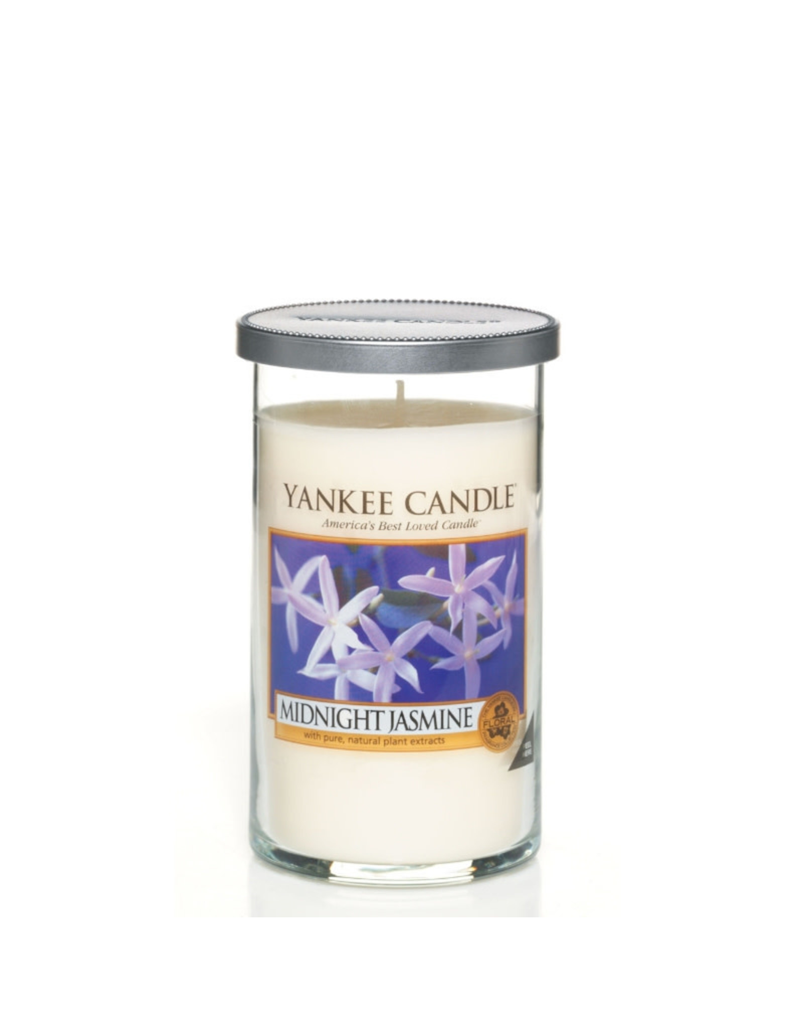 Yankee Candle Midnight Jasmine Medium Pillar