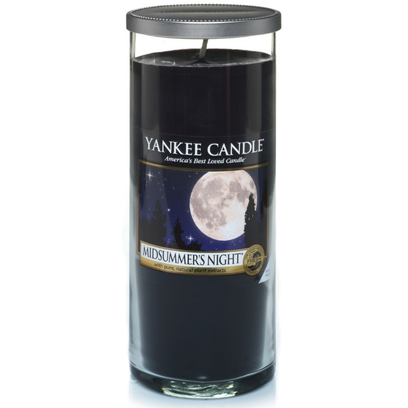 Yankee Candle Midsummers Night Large Pillar