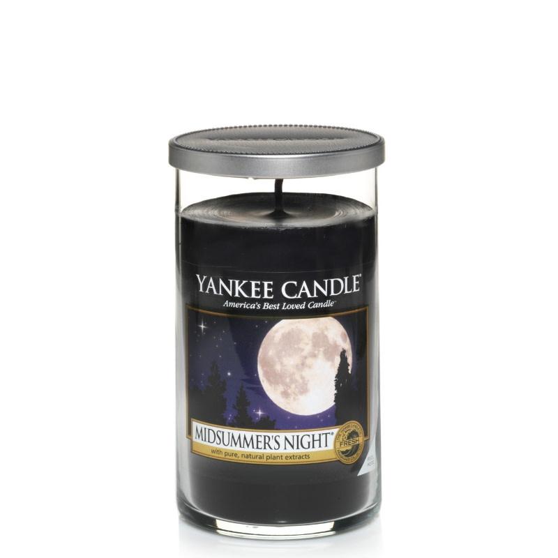 Yankee Candle Midsummers Night Medium Pillar