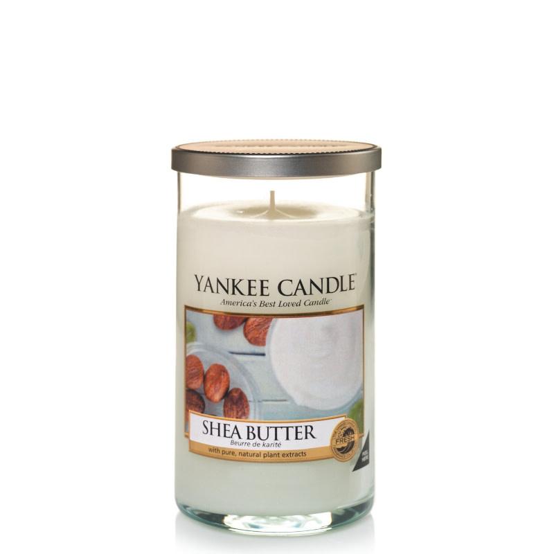 Yankee Candle Shea Butter Medium Pillar