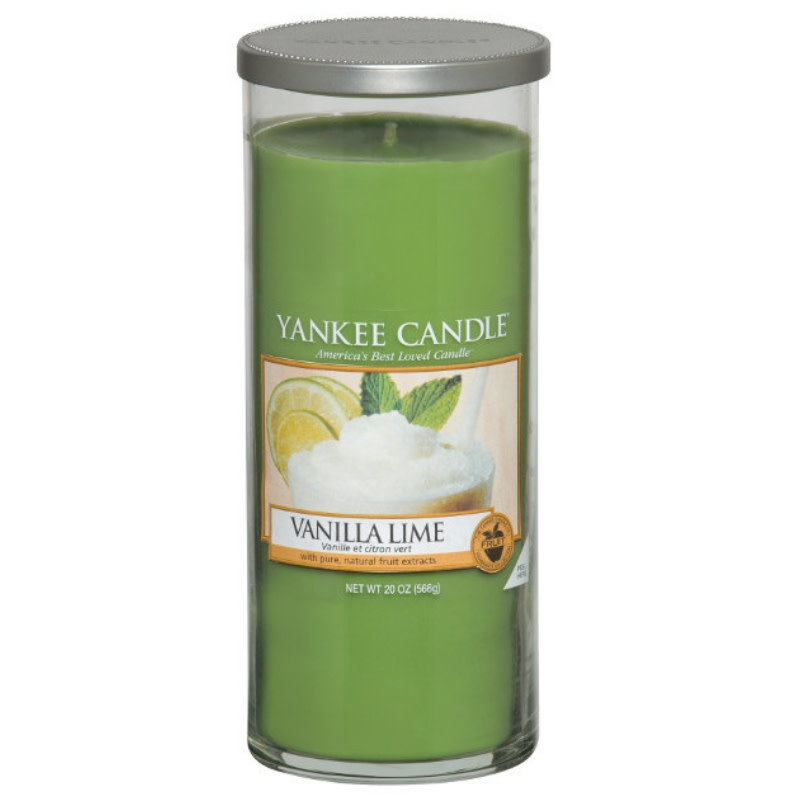 Yankee Candle Vanille Lime Large Pillar