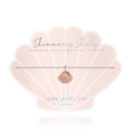 Joma Jewellery Shimmering Shell - Armband Zilver