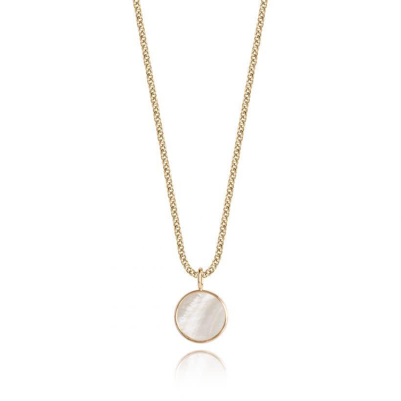 Joma Jewellery Shona Shell - Disc Ketting