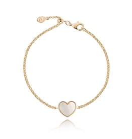 Joma Jewellery Shona Shell - Heart Armband