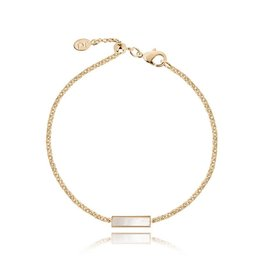 Joma Jewellery Shona Shell - Bar Armband