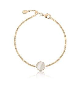 Joma Jewellery Shona Shell - Disc Armband