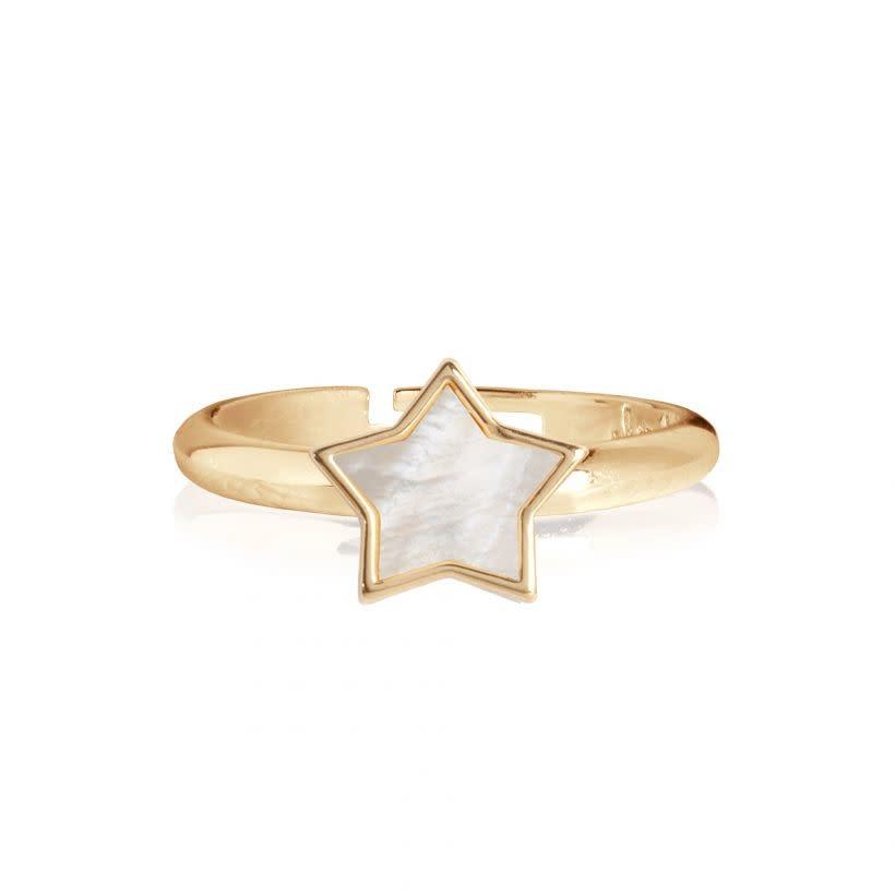 Joma Jewellery Shona Shell - Star Ring
