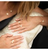Joma Jewellery Shona Shell - Disc Ring